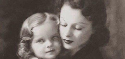 Вивьен Ли с дочерью Сюзанной